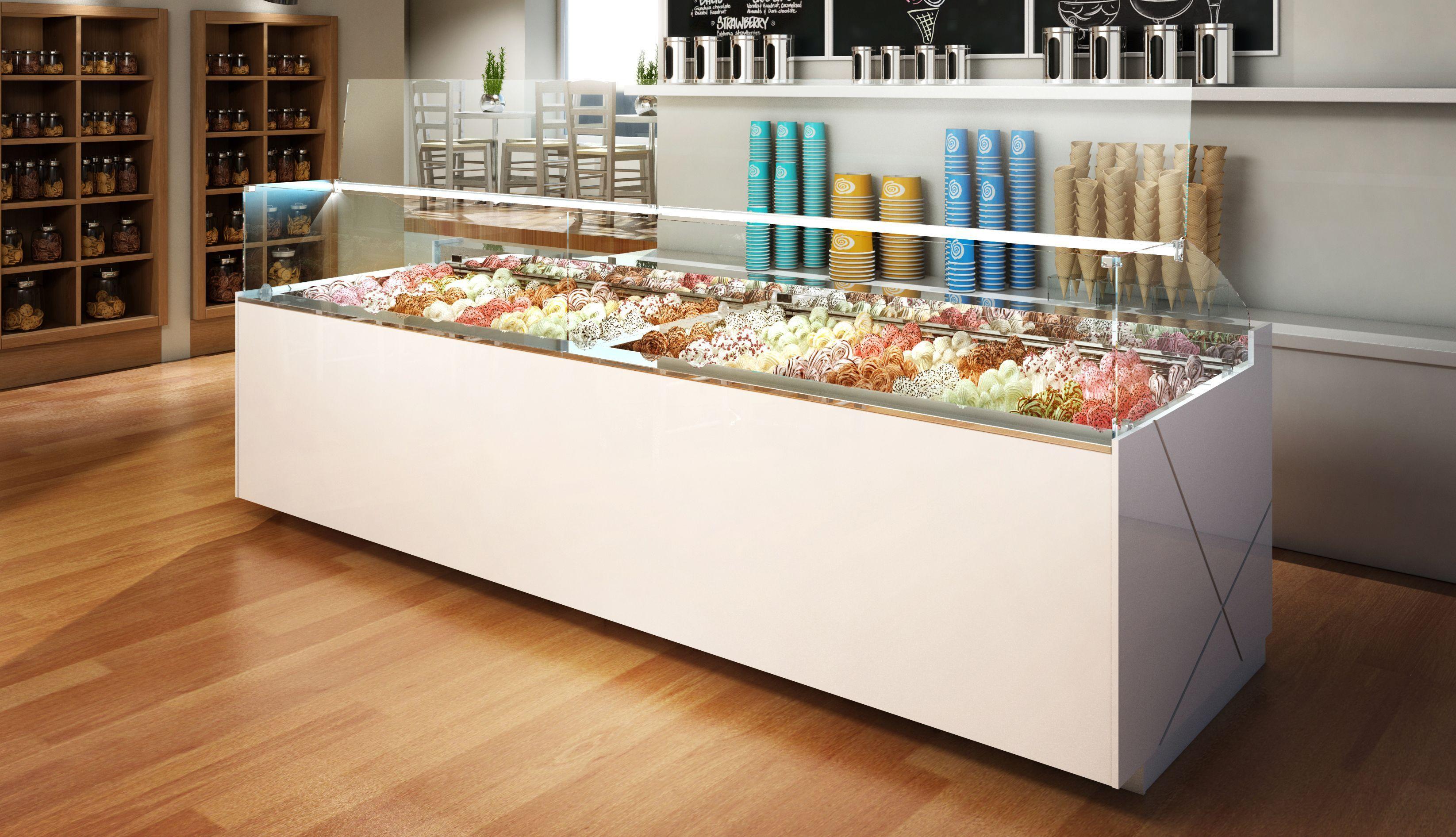 vitrinas refrigeradas - vitrinas helado - grupo granita