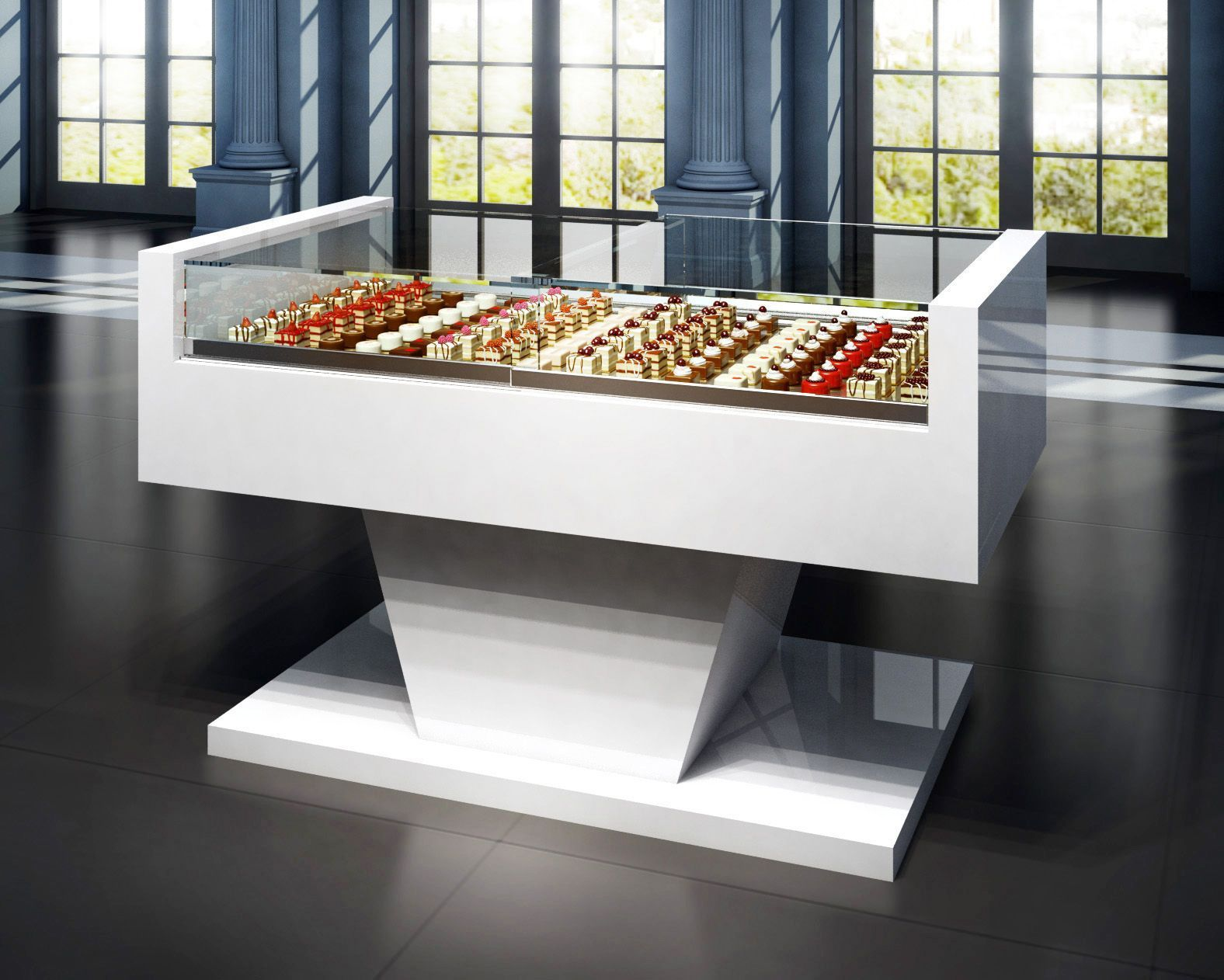 vitrinas refigeradas - vitrinas de pastelería - grupo granita