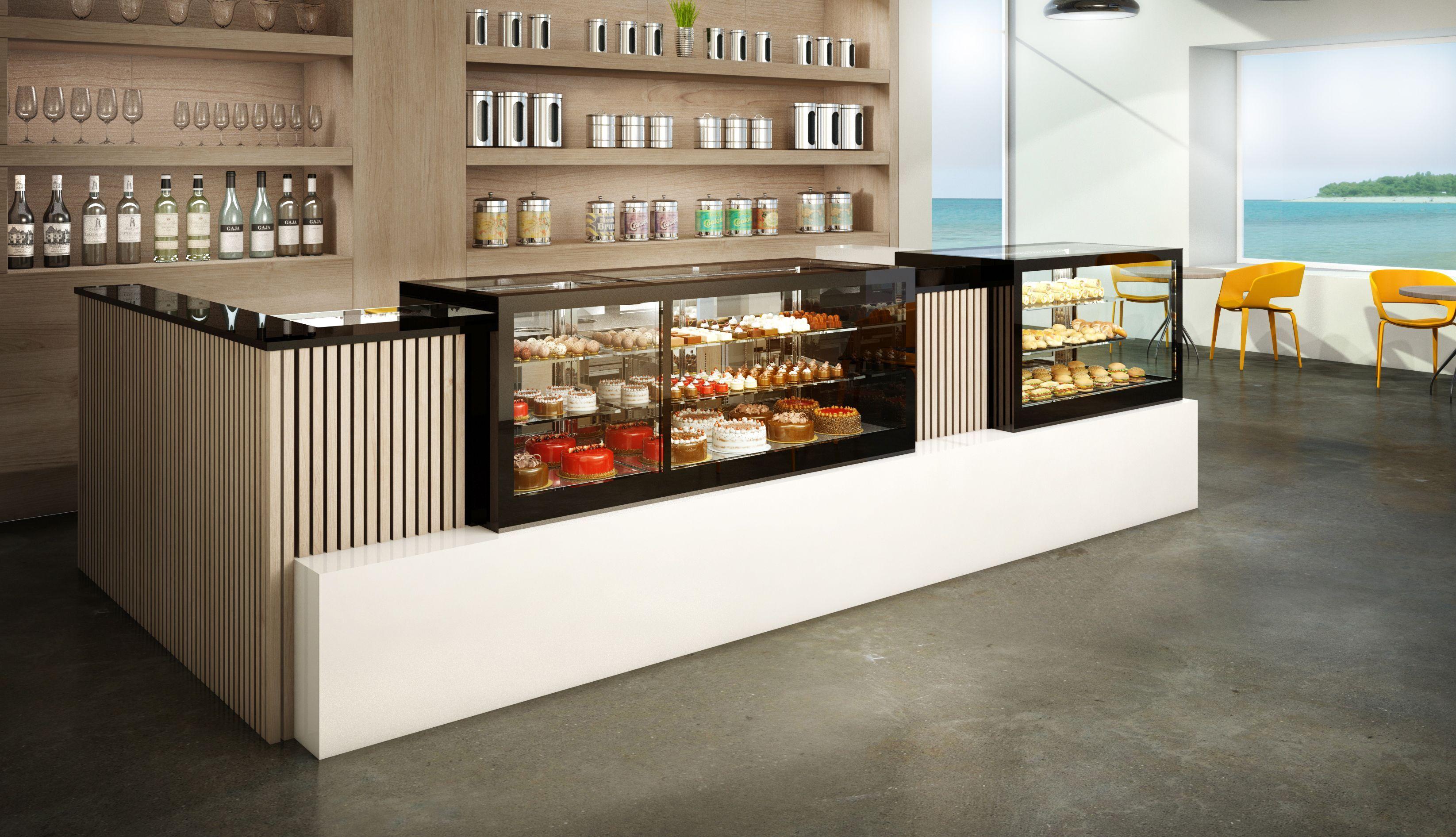 vitrinas refrigeradas - vitrinas de pastelería - grupo granita