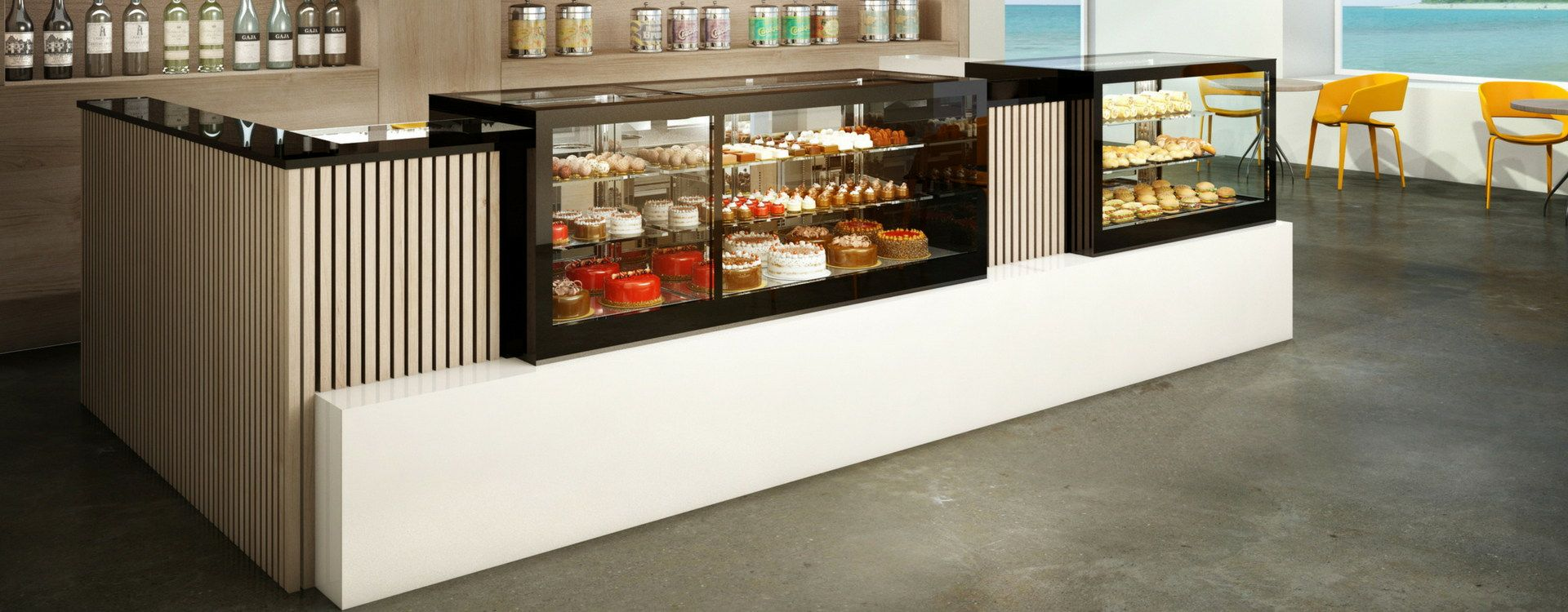 vitrina refrigerada vitrina pasteleria grupo granita