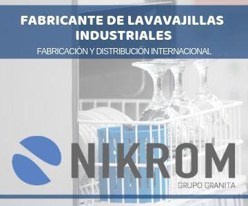 Fabricante de lavavajillas industriales. Fabricación y distribución internacional