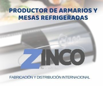 Productor de armarios y mesas refrigeradas, fabricación y distribución internacional