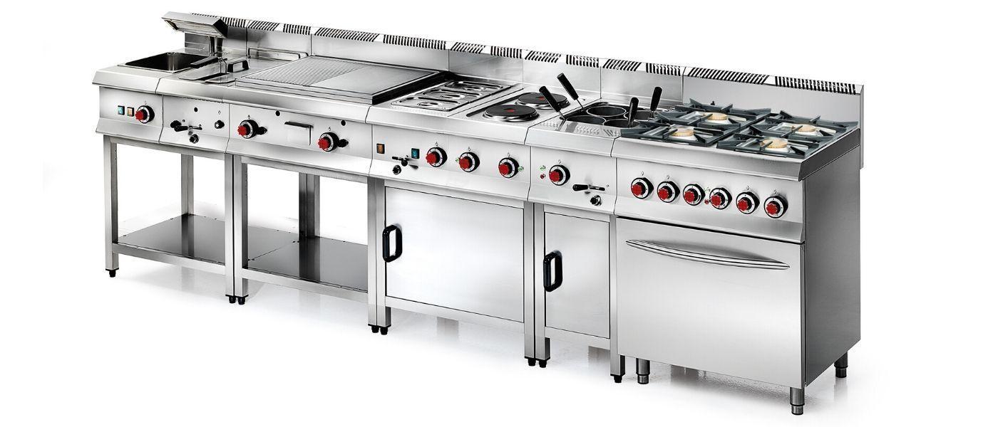 cocina 650 unico - grupo granita - cocción