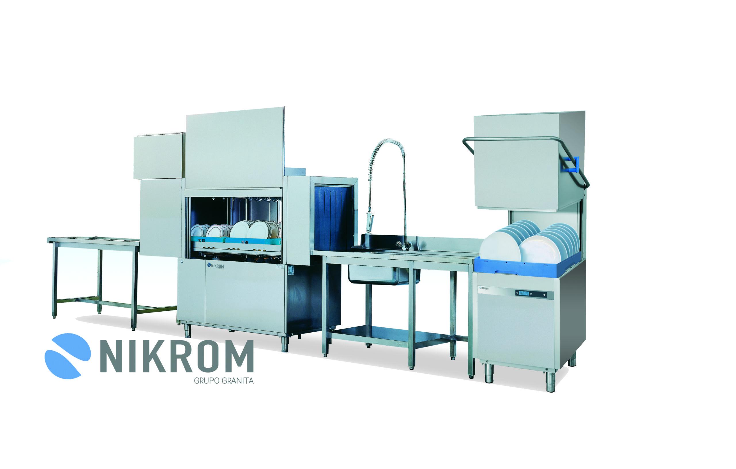 nikrom - grupo granita - lavado - menaje limpieza